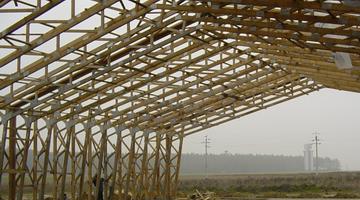Монтаж деревянных конструкций от МЕТАЛЛСТРОЙПРОФИЛЬ
